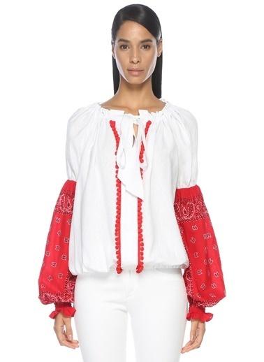 Forte Couture Bluz Kırmızı